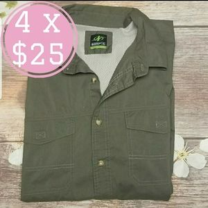 Nordictrack button down shirt